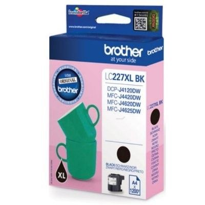 Brother Tusz LC227XLBK black XL | 1 200str | DCP-J4120DW / MFC-J4420DW