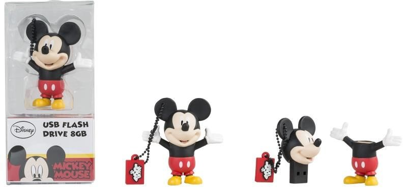 Tribe Pendrive Disney Myszka Miki 8GB Tribe USB 2.0