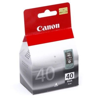 Canon PG40 black pigment BLISTER with Security (16ml, iP1200/1600/2200/MP150)