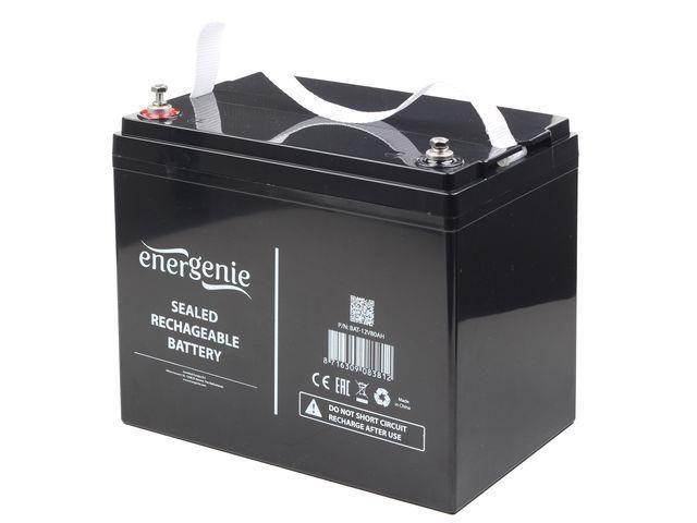 Gembird Energenie żelowy akumulator wymienny 12V/80AH