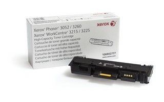 Xerox Toner black black | 3 000str | Phaser 3052/3260/WorkCentre 3215/3225
