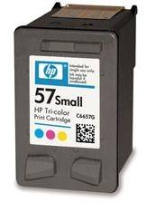 HP No 57 small tri-colour