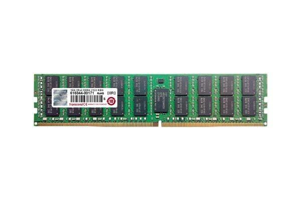 Transcend 8GB 2133Mhz DDR4 CL15 R-DIMM 1Rx4 1.2V