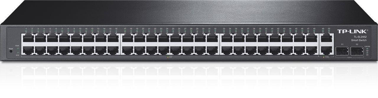 TP-Link Switch zarządzalny TP-Link TL-SL2452 48x10/100 2xGB 2xSFP