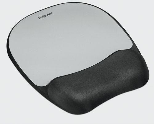 Fellowes podkładka żelowa pod mysz i nadgarstek Memory Foam, plasma