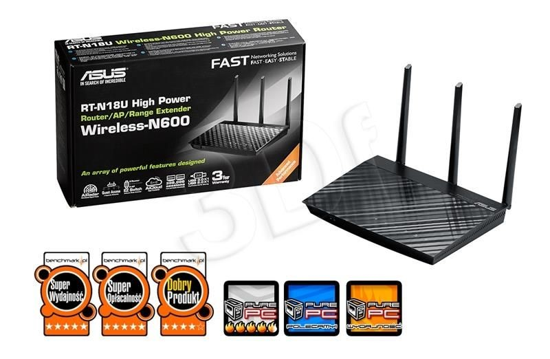 Asus router RT-N18U ( Wi-Fi 2 4GHz)