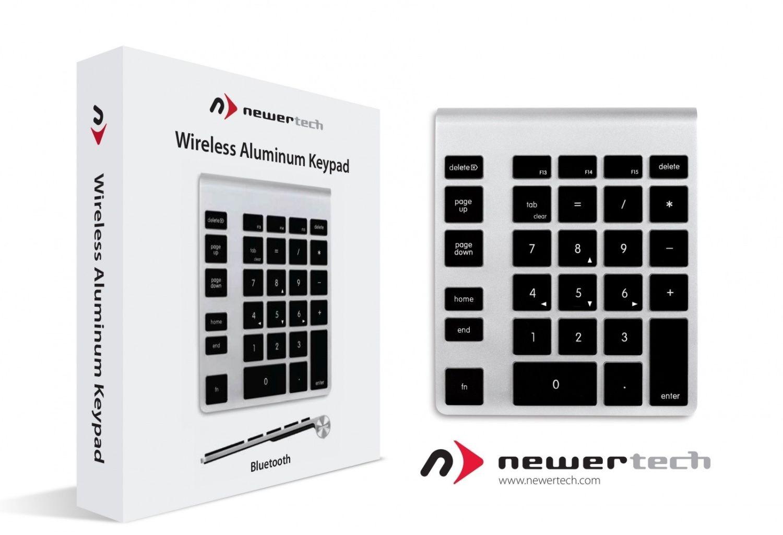 OWC NewerTech keypad bluetooth do klawiatury Apple aluminium czarny