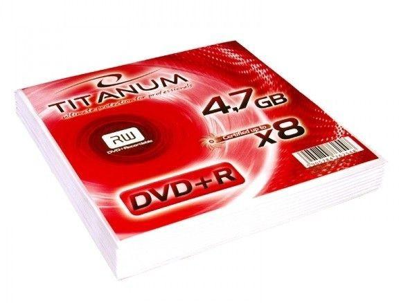 Esperanza TITANUM DVD+R 4,7GB X8 KOPERTA 10
