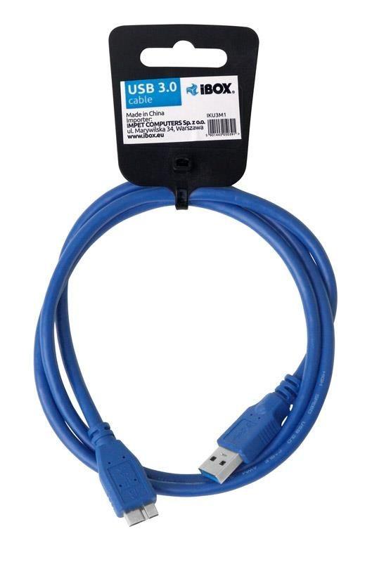 I-BOX KABEL I-BOX USB 3.0 TYP A/B MICRO 1M