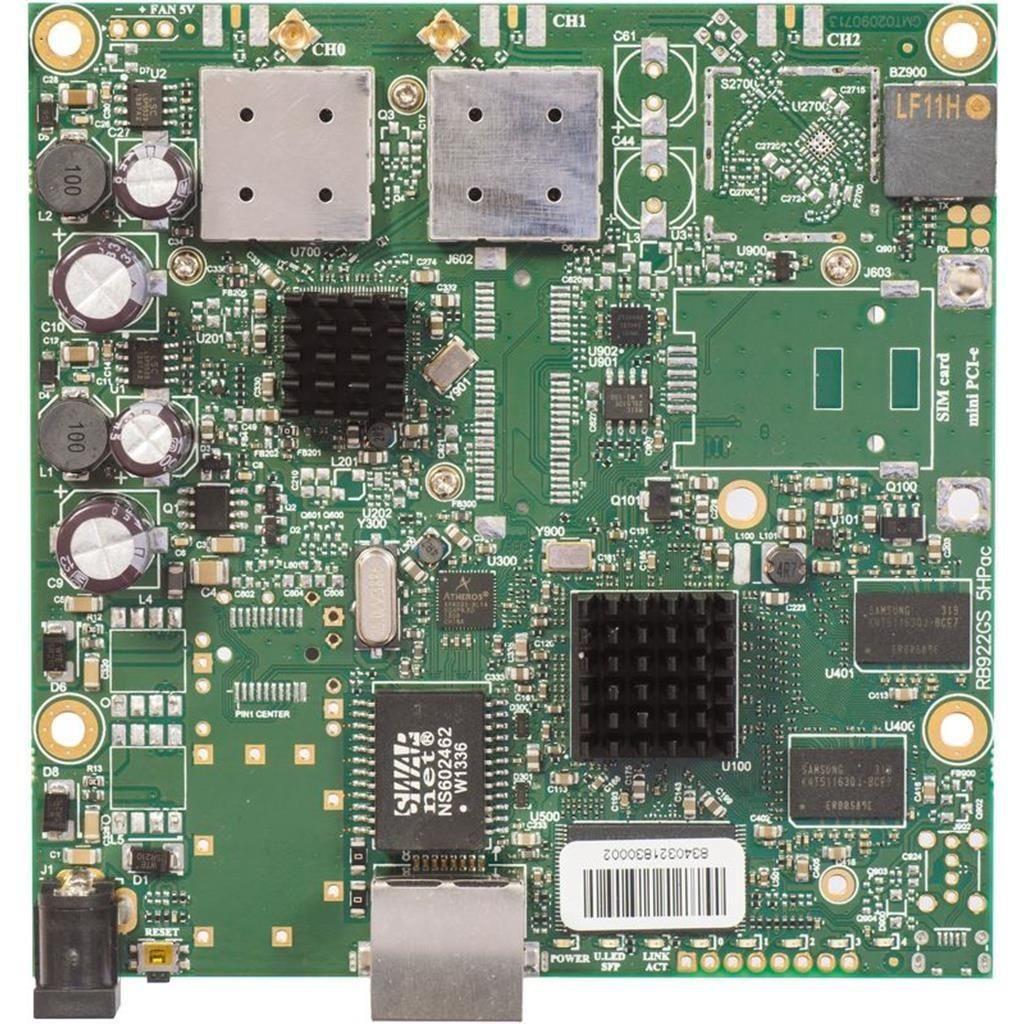 MikroTik RB911G-5HPacD L3, 128MB RAM, 5GHz 802.11ac Dual Chain CPE