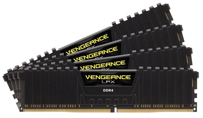 Corsair Vengeance LPX Black 4x4GB 2133MHz DDR4 CL15 1.2V, DIMM