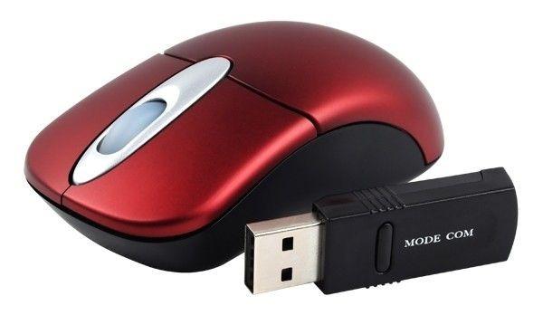 ModeCom Bezprzewodowa Mysz Optyczna Mini MC-602 Black