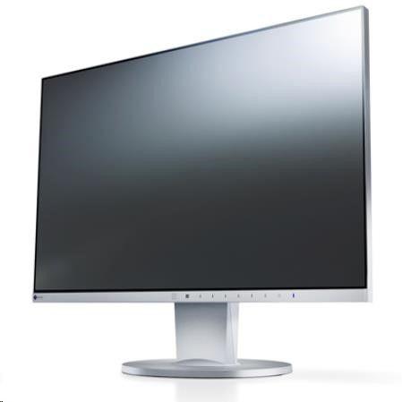 EIZO MT IPS LCD LED 23,8 EV2450-GY 1920x1080, 250cd, 5ms, repro,DVI-D, D/SUB15, HDMI, DP, USB 3.0, ramecek 1mm, černý