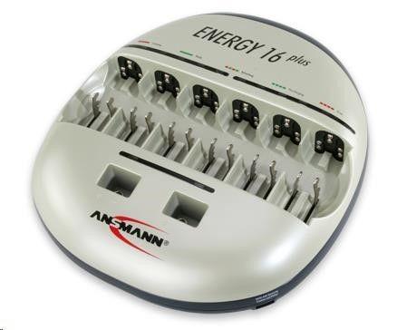 CyberPower Baterie - Ansmann Energy 16 Plus nabíječka