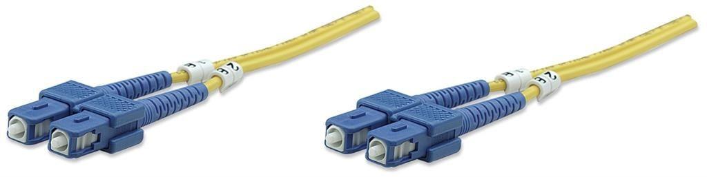 Intellinet Network Solutions Światłowód krosowy SC-SC duplex 1m 9/125 OS2 jednomodowy