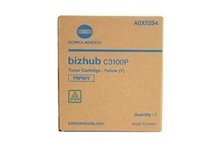 Konica Minolta Toner TNP-50Y | 5000 str | Yellow | Bizhub C3100P