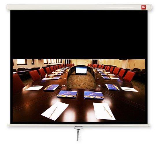 ViDiS Ekran ścienny ręczny Cinema 200, 16:9, 200x200cm, powierzchnia biała, matowa