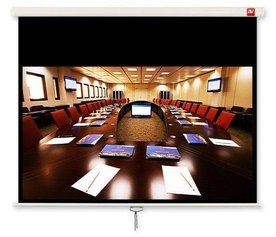 ViDiS Ekran ścienny ręczny Cinema 240, 16:9, 240x200 cm, powierzchnia biała, matowa