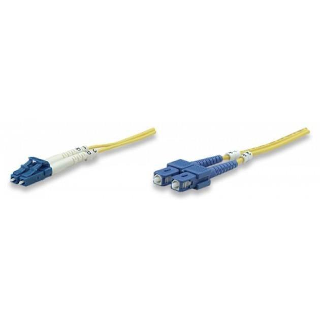 Intellinet Network Solutions Światłowód krosowy LC-SC duplex 3m 9/125 OS2 jednomodowy