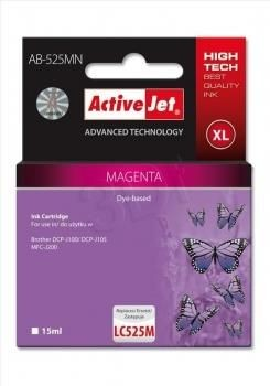 ActiveJet Tusz ActiveJet AB-525MN | Magenta | 15 ml | Brother LC525M