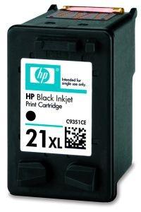 HP Głowica drukująca HP 21XL black | 12ml | D1560/D1320/F2280/F2290/J3680