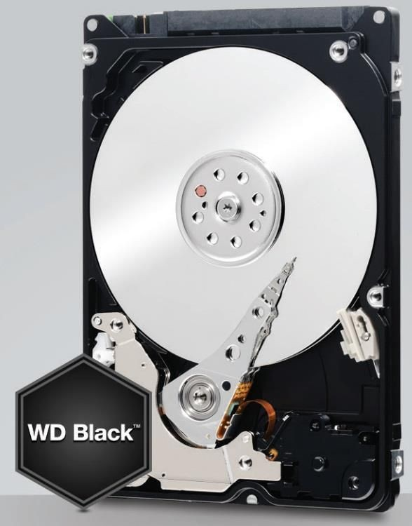 Western Digital Dysk twardy WD Black, 2.5'', 320GB, SATA/600, 7200RPM, 32MB cache