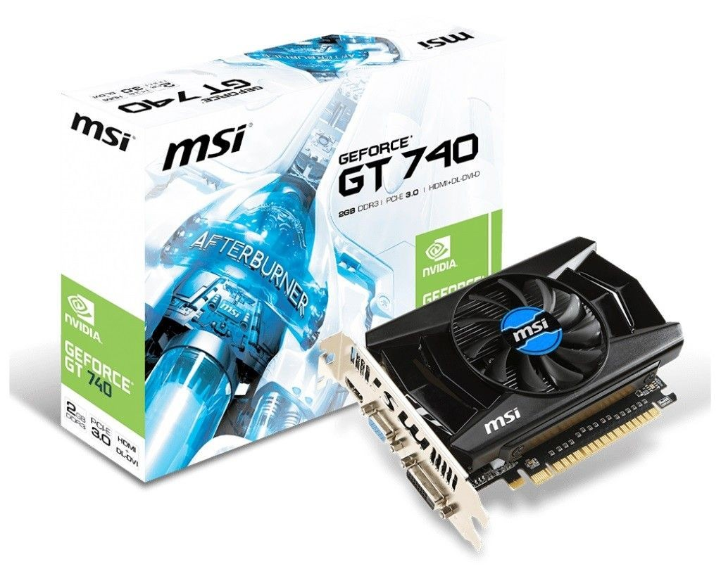 MSI KARTA PCI-E 2048MB GEFORCE GT740 128bit DDR3 DVI/HDMI/D-Sub /MSI