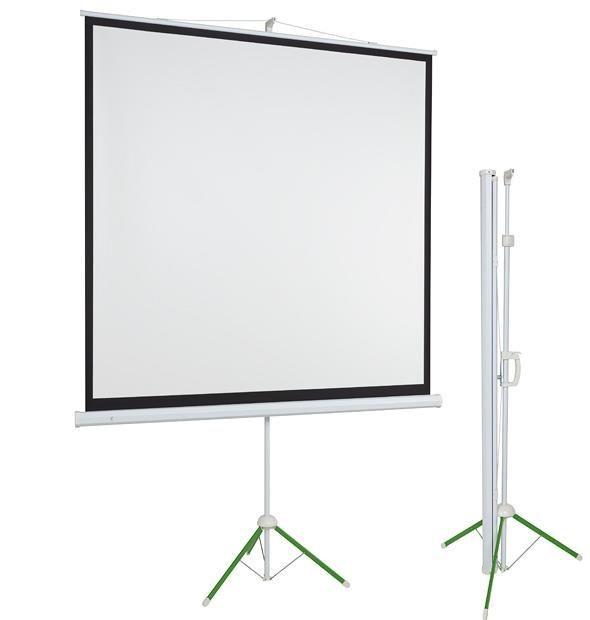 2x3 Ekran ECO przenośny na trójnogu 153x203 (użytkowa 145x195)