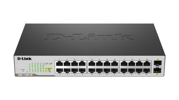 D-Link Switch Smart DGS-1100-26 24xGE 2xSFP