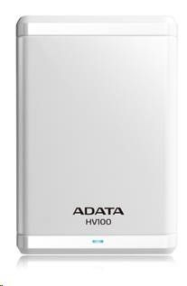 A-Data Dysk HV100 DashDrive External 1TB White