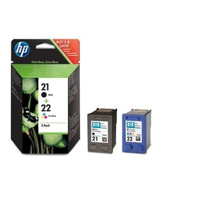 HP Combo Pack Tusz 21 + 22 SD367AE