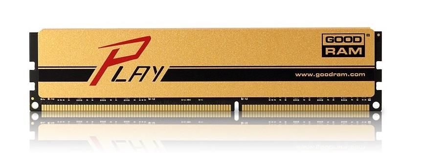 GoodRam DDR3 PLAY GOLD 8GB/1600 CL10-10-10-28