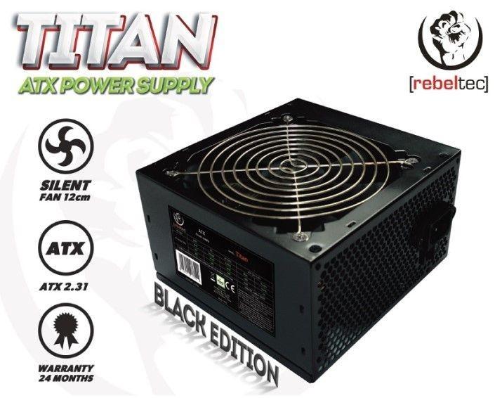 rebeltec Zasilacz komputerowy ATX ver 2.31 TITAN 450W