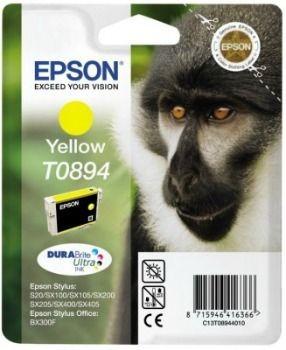 Epson tusz T0894 yellow DURABrite (3.5ml, Stylus S20/SX100/SX105)