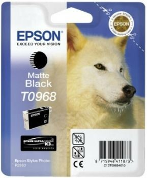 Epson tusz T0968 matte black UltraChrome K3 (Stylus Photo R2880)