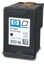 HP tusz 300XL black