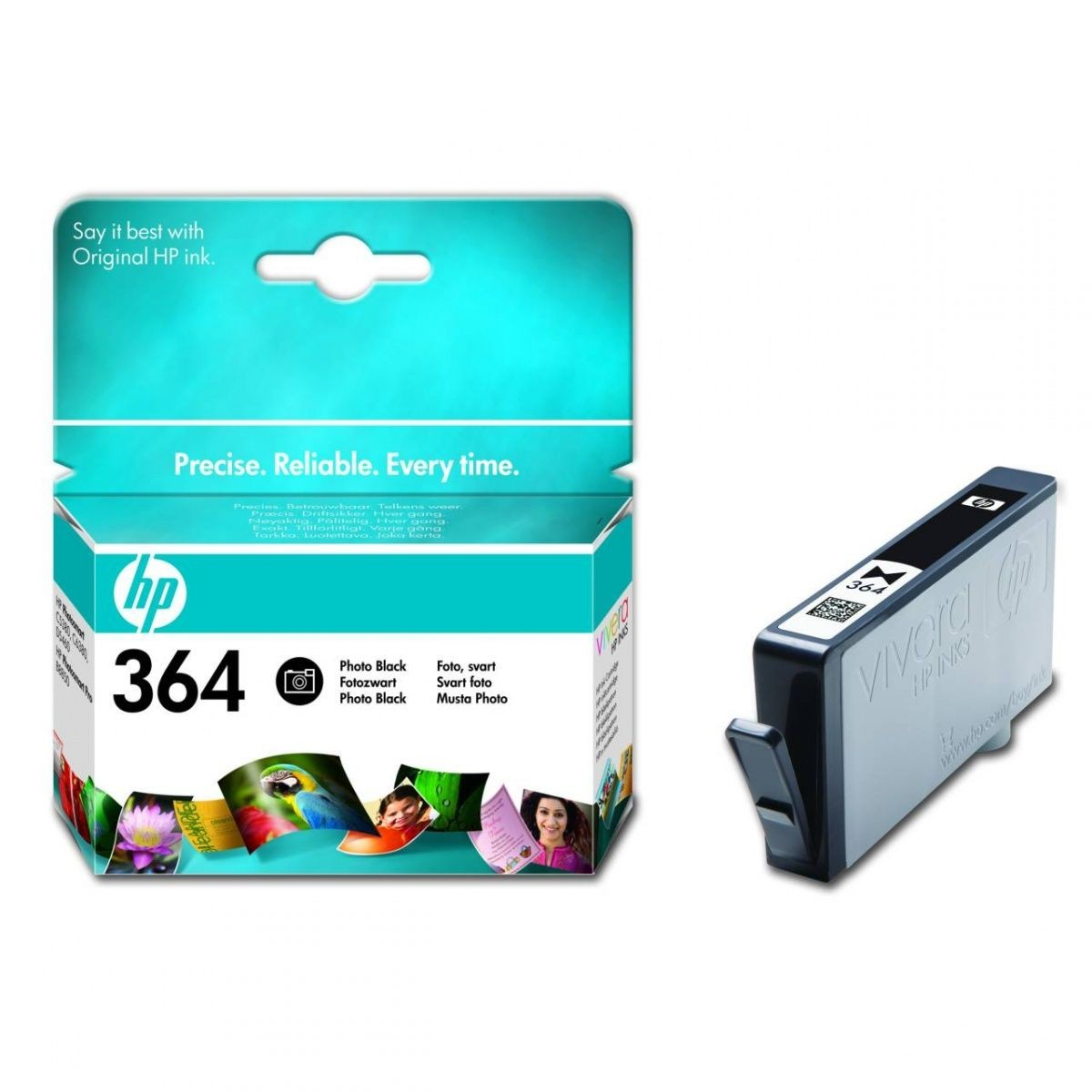 HP tusz 364 photo black Vivera