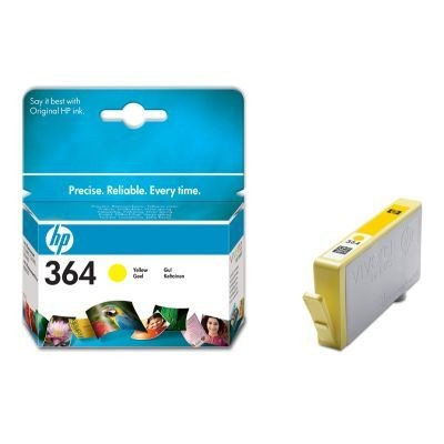 HP Tusz HP 364 yellow Vivera | 3ml | PS C5380/C6380/D5460/B8850