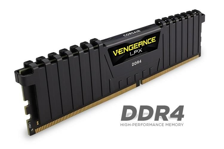 Corsair Vengeance LPX 4x4GB 3000MHz DDR4 CL15 1.35V, DIMM, Intel XMP 2.0