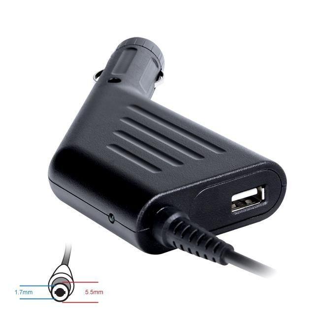 Digitalbox zasilacz samochodowy 19V/3.42A 65W wtyk 5.5x1.7mm Acer | USB