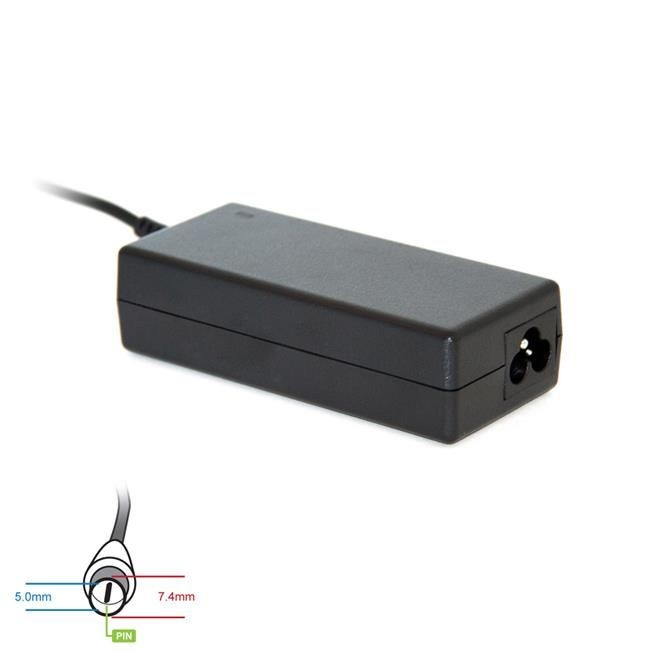 Digitalbox zasilacz 19.5V/3.34A 65W wtyk 7.4x5.0mm + pin Dell