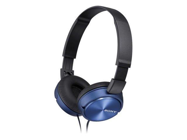 Sony Słuchawki Sony nauszne MDR-ZX310 niebieskie