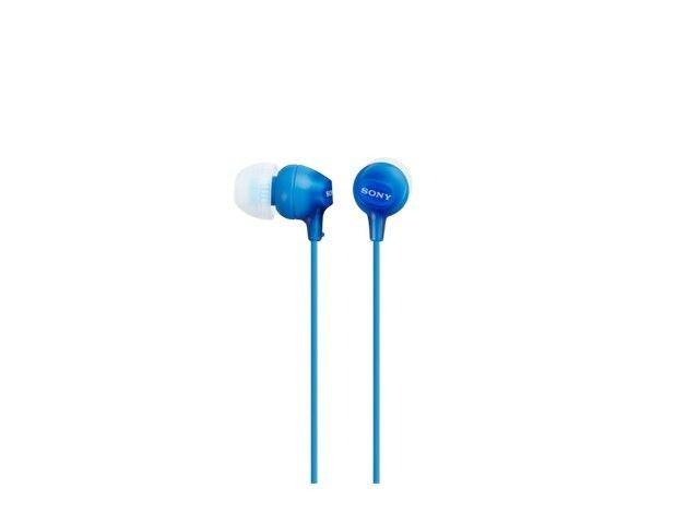 Sony Słuchawki EX Serie 9mm MDR-EX15LP blue