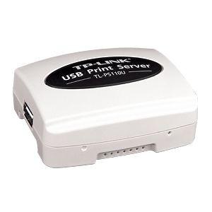TP-Link TL-PS110U serwer druku 1xUSB, 1xRJ-45