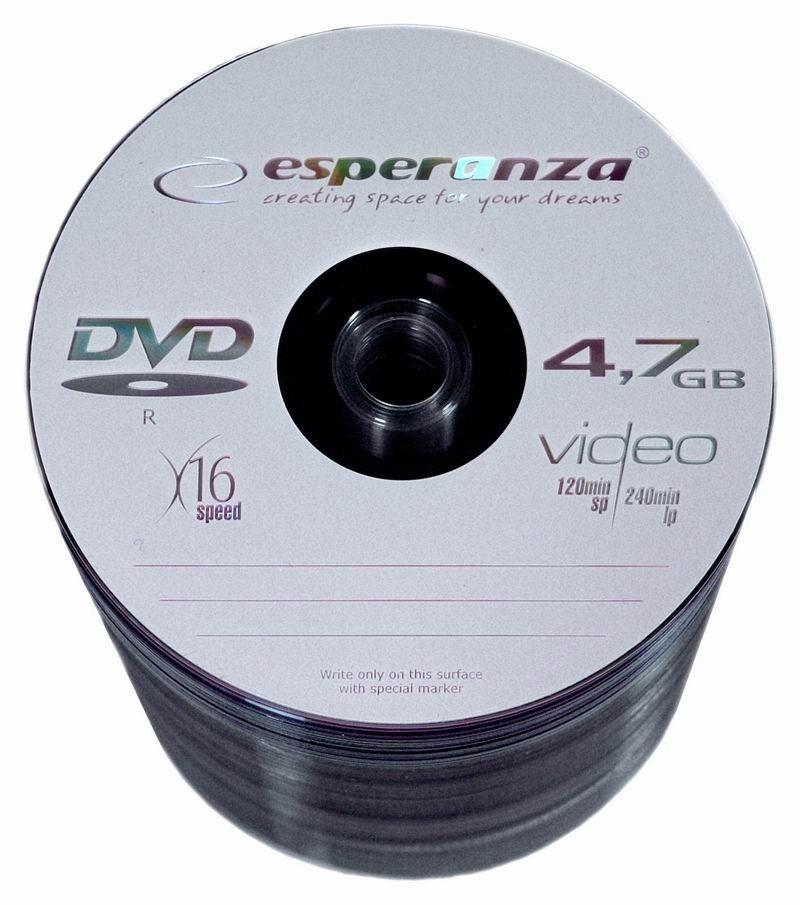 Esperanza DVD-R 4.7GB 16x (szpindel, 100szt)