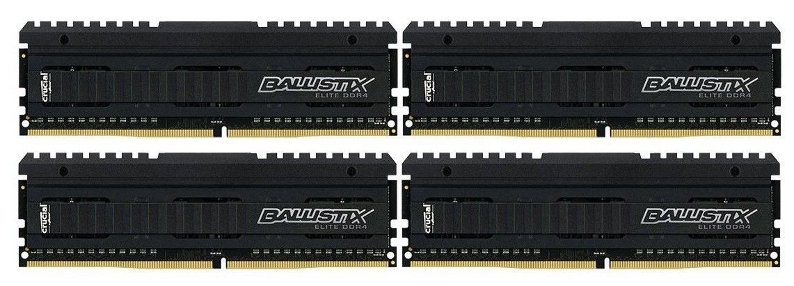 Crucial Pamięć 16GB Kit 4GBx4 DDR4 2666 MT/s