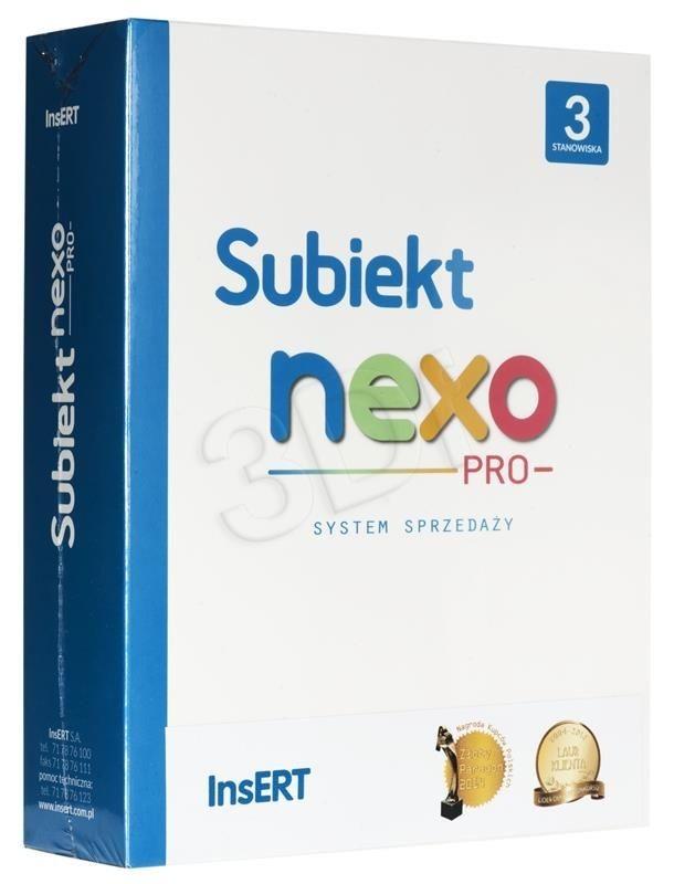 InsERT Subiekt nexo PRO3 + książka nexo