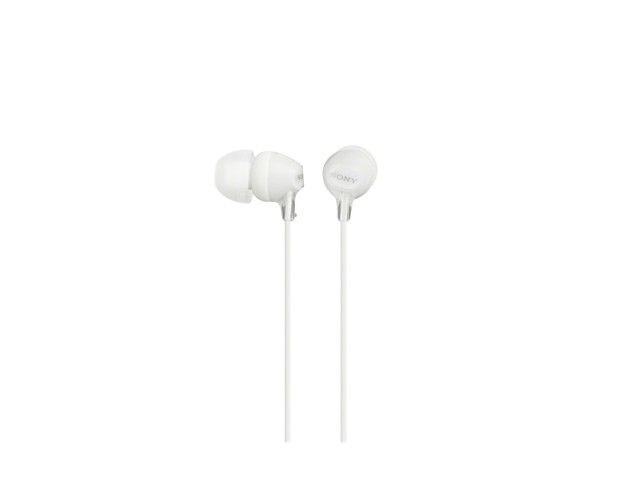 Sony Słuchawki MDR-EX15LP White