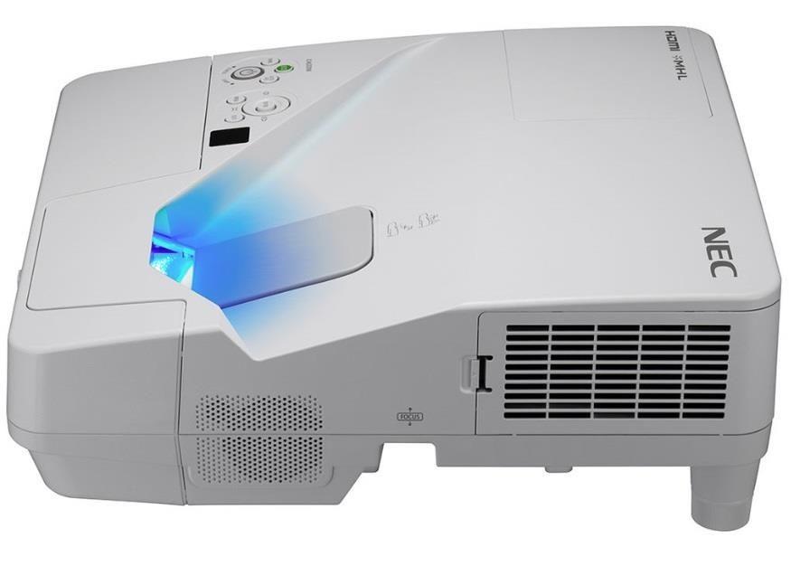 NEC Projektor UM351Wi (LCD, WXGA, 3500AL, wall-mount,inter.pen, 93'' whiteboard)