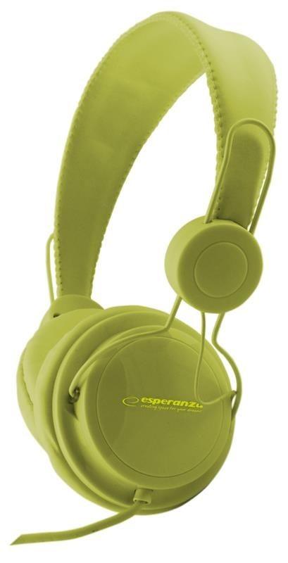 Esperanza EH148G SENSATION Słuchawki Audio Stereo z Regulacją Głośności | 3m